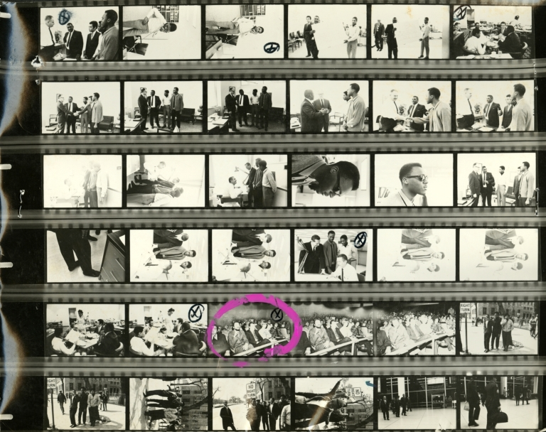 Opportunity Please Knock, contact sheet